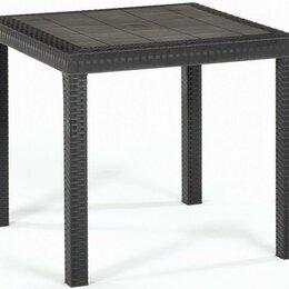 Столы - Стол пластиковый 80*80*74 см Dallas, 0
