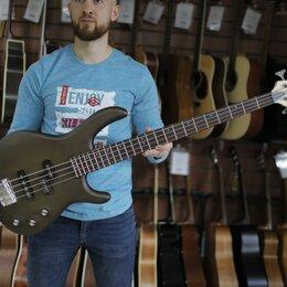 Электрогитары и бас-гитары - Бас гитара Cort Action-PJ-OPW, цвет орех, 0