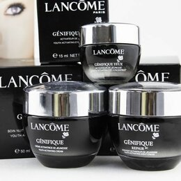 Антивозрастная косметика - Набор кремов Lancome Genifique Антивозрастной, 0