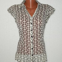 Блузки и кофточки - Блуза-рубашка. 44-46. , 0