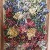 Картина из атласных лпнт по цене 1000₽ - Рукоделие, поделки и сопутствующие товары, фото 5