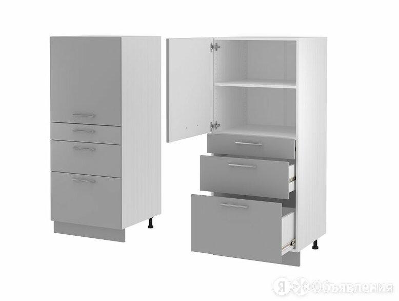 ПЕНАЛ П-143 600*1430*570 корпус белый по цене 19095₽ - Мебель для кухни, фото 0