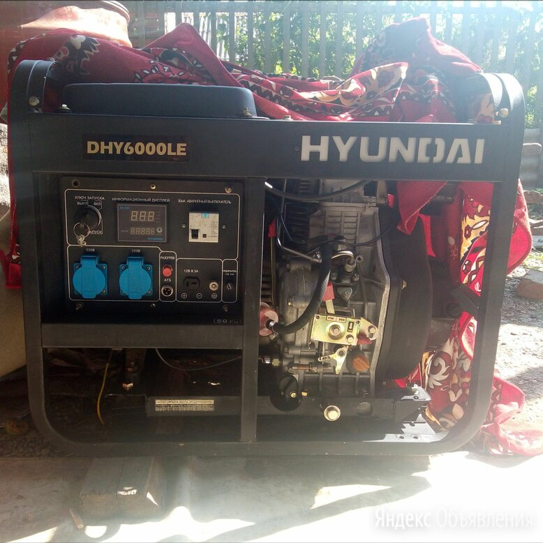 Дизельный гениратор по цене 60000₽ - Электрогенераторы и станции, фото 0