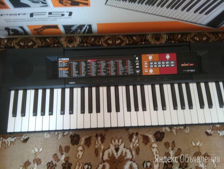 Синтезатор yamaha PSR - F51 новый по цене 14000₽ - Клавишные инструменты, фото 0