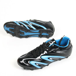 Обувь для спорта - Бутсы шипованые АА01 (черный/синий, р-р 45) 251-151, 0