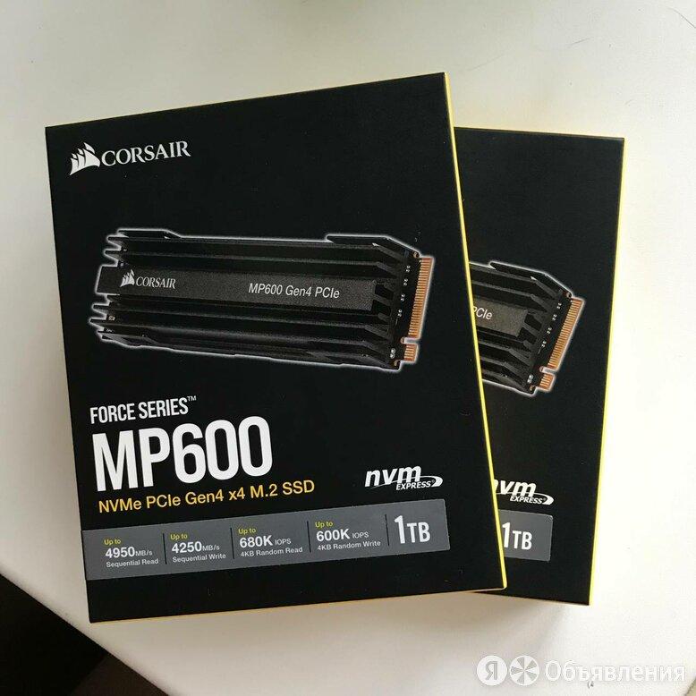 Новые M2 SSD nvme corsair force MP600 1TB по цене 16000₽ - Жёсткие диски и SSD, фото 0