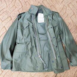 Куртки - Куртка М65 контракт. Alpha Industries, XS, 1980 г, 0