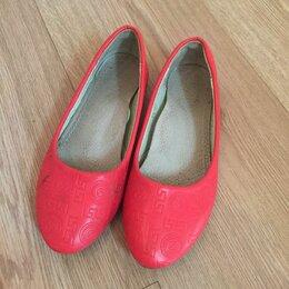 Балетки, туфли - Балетки красные , 0