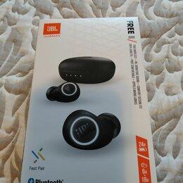 Наушники и Bluetooth-гарнитуры - JBL FREE II. Беспроводные наушники. Новые. Упаковка не вскрывалась! , 0