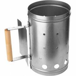 Средства и приспособления для розжига - Стартер для быстрого розжига угля HS-KP-02 Helios (нержавеющая сталь), 0