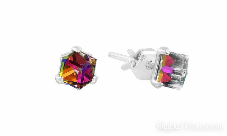 Серьги Серебро России 0056S-001VM-1046561 по цене 990₽ - Серьги, фото 0