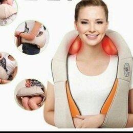 Вибромассажеры - Массажер-пояс роликовый neck kneading универсальный, 0