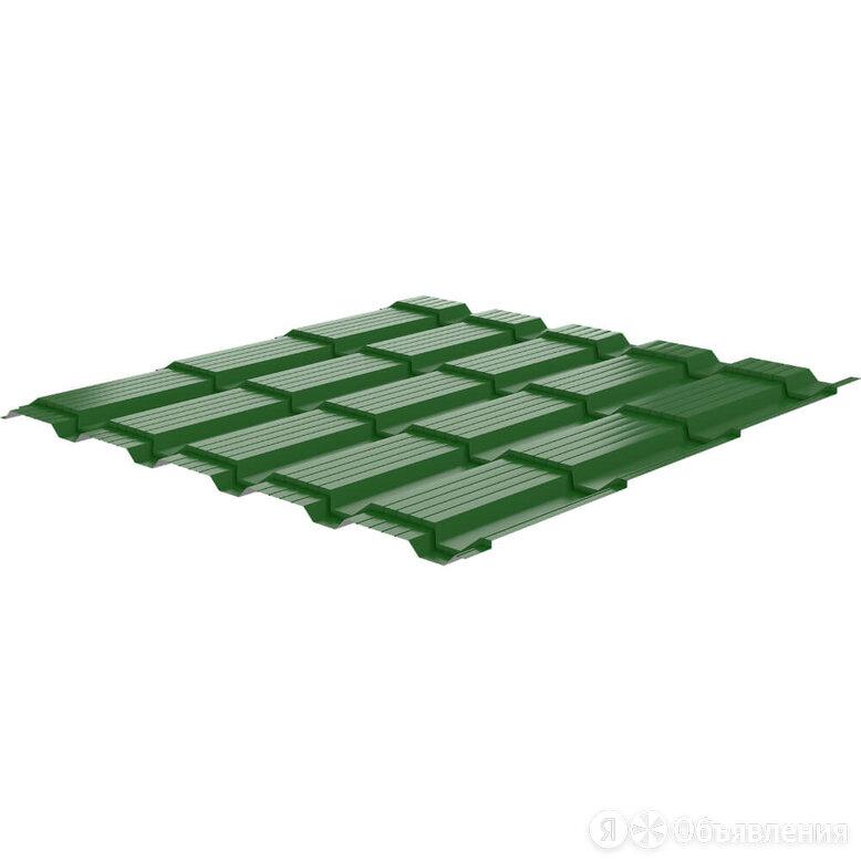Металлочерепица Кронос RAL6002 Зеленый Лист 0,45мм по цене 715₽ - Кровля и водосток, фото 0