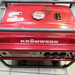 Электрогенераторы и станции - Бензогенератор Kronwerk lk-6500, 0
