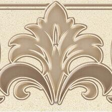 Заборчики, сетки и бордюрные ленты - Бордюр Global Tile Бордюр Global Tile Marseillaise В24MS4215TG 27х7,7, 0