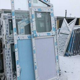 Окна - Окно, ПВХ Veka 58мм, 2145(В)х630(Ш) мм, откидное, т-одностоврчатое, 1-кам стп, 0