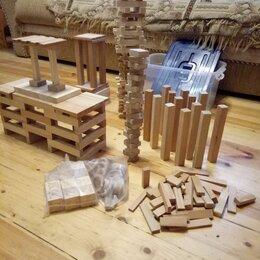 Конструкторы - деревянный конструктор 300 деталей, 0