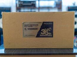 Проигрыватели виниловых дисков - Проигрыватель винила Technics SL 1200MK6 Новый, 0