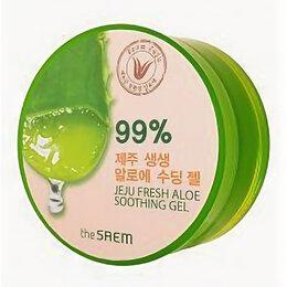 Увлажнение и питание - Гель алоэ the SAEM jeju fresh aloe soothing gel 99% 300мл, 0