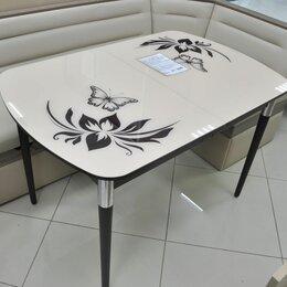 """Столы и столики - Стол кухонный стеклянный раздвижной """"Вальс"""", 0"""