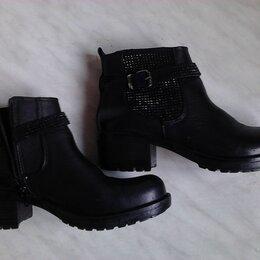 Ботинки - Ботинки женские  чёрные, 0