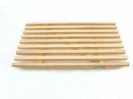 Полки, стойки, этажерки - Решётка деревянная для ванн 700х400 мм, 0