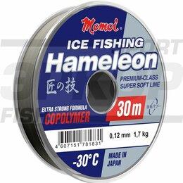 Леска и шнуры - Леска Momoi Hameleon Ice Fishing 50 м серебрянная 1/10 (х7), 0