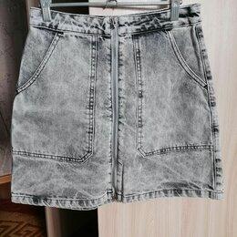 Юбки - Джинсовая юбка , 0