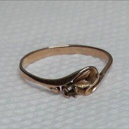 Кольца и перстни - золотое кольцо  без камня, 0