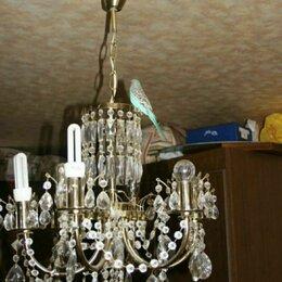 Люстры и потолочные светильники - Люстра хрустальная бу, 0