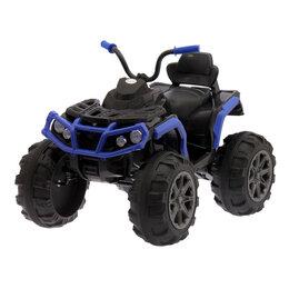 Электромобили - Электромобиль «Квадроцикл», 2 мотора, цвет синий (без радиоуправления), 0