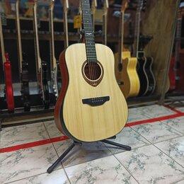 Акустические и классические гитары - Акустическая гитара Flight AD-555 Новая, 0