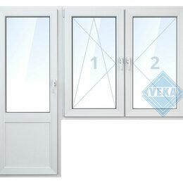 Окна - Балконная дверь с 2-мя окнами, 0