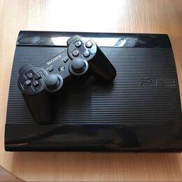 Игровые приставки - Sony PS3 super slim (25 игр), 0