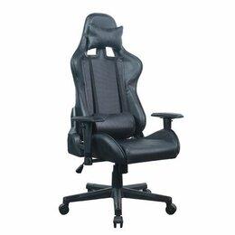 """Компьютерные кресла - Кресло компьютерное BRABIX """"GT Carbon GM-115"""", две подушки, экокожа, черное, 0"""