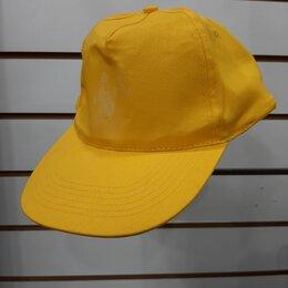 Головные уборы - Бейсболка комфорт желтая, 0