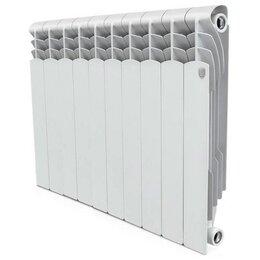 Радиаторы - Радиатор отопления алюминиевый 500х80 10 секций Revolution Royal Thermo RTR50010, 0