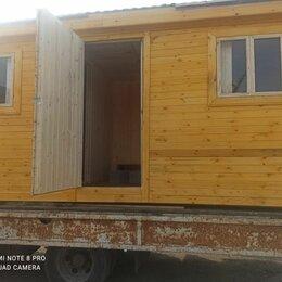 Готовые строения - Бытовка деревянная дачная 6 М, 0