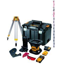 Измерительные инструменты и приборы - Уровень лазерный ротационный DeWalt DCE074D1R, 0