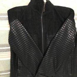 Куртки - Женская кожная куртка, 0