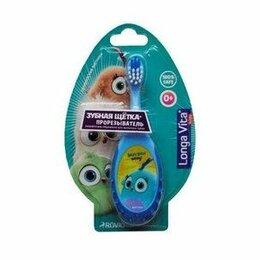 Электрические зубные щетки - 0118 Лонга Вита Зубная щетка-прорезыватель Angry Birds Hatchlings   0+ мес, 0
