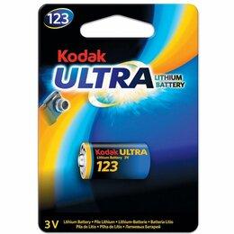 Батарейки - Элемент питания KODAK  MAX  CR 123 (K123LA)   (6/12/5760), 0