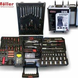 Наборы инструментов и оснастки - Möller S189 Набор ручного инструмента 189 предметов, 0