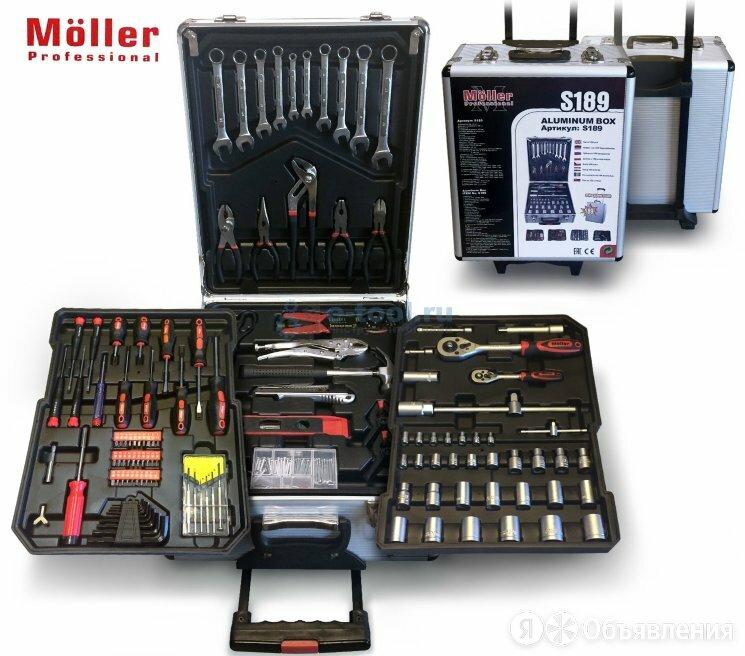 Möller S189 Набор ручного инструмента 189 предметов по цене 6000₽ - Готовые строения, фото 0