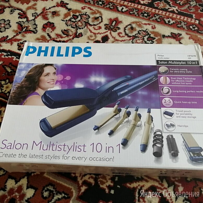 Стайлер philips salon multistylist 10 в 1 по цене 900₽ - Щипцы, плойки и выпрямители, фото 0
