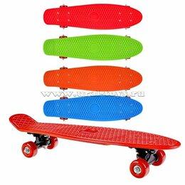 Скейтборды и лонгборды - Новый Скейтборд 56*15см детский, 0