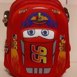 Рюкзаки, ранцы, сумки - Школьный рюкзак Тачки Молния Маквин , 0