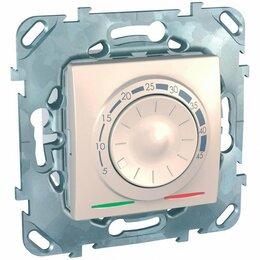 Отопительные системы - Термостат тёплого пола Schneider Electric Unica MGU5.503.25ZD, 0