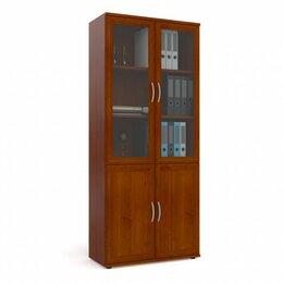 Стеллажи и этажерки - Шкаф для книг МД 2.03 со стеклом, 0