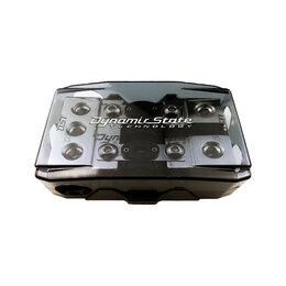 Электрические щиты и комплектующие - Держатель 2-х предохранителей Dynamic State EI.FHM20 (+ 2 предохранителя 100А), 0